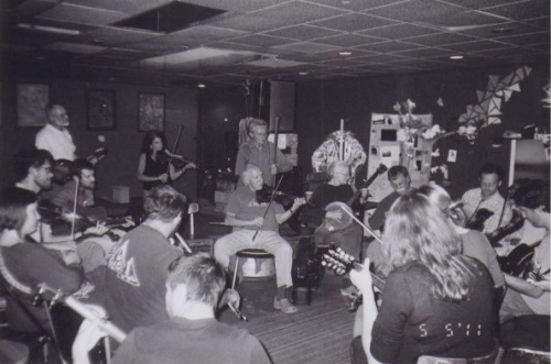Old-Time Jam at Nightlight, Chapel Hill, NC.  Photo credit: Emily Hilliard
